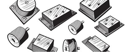 Vibration Isolators & Shock Mount Manufactures