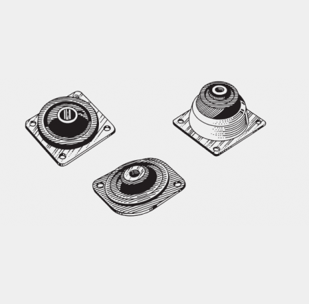 3000 SERIES ISOLATORS PLATE MOUNTS